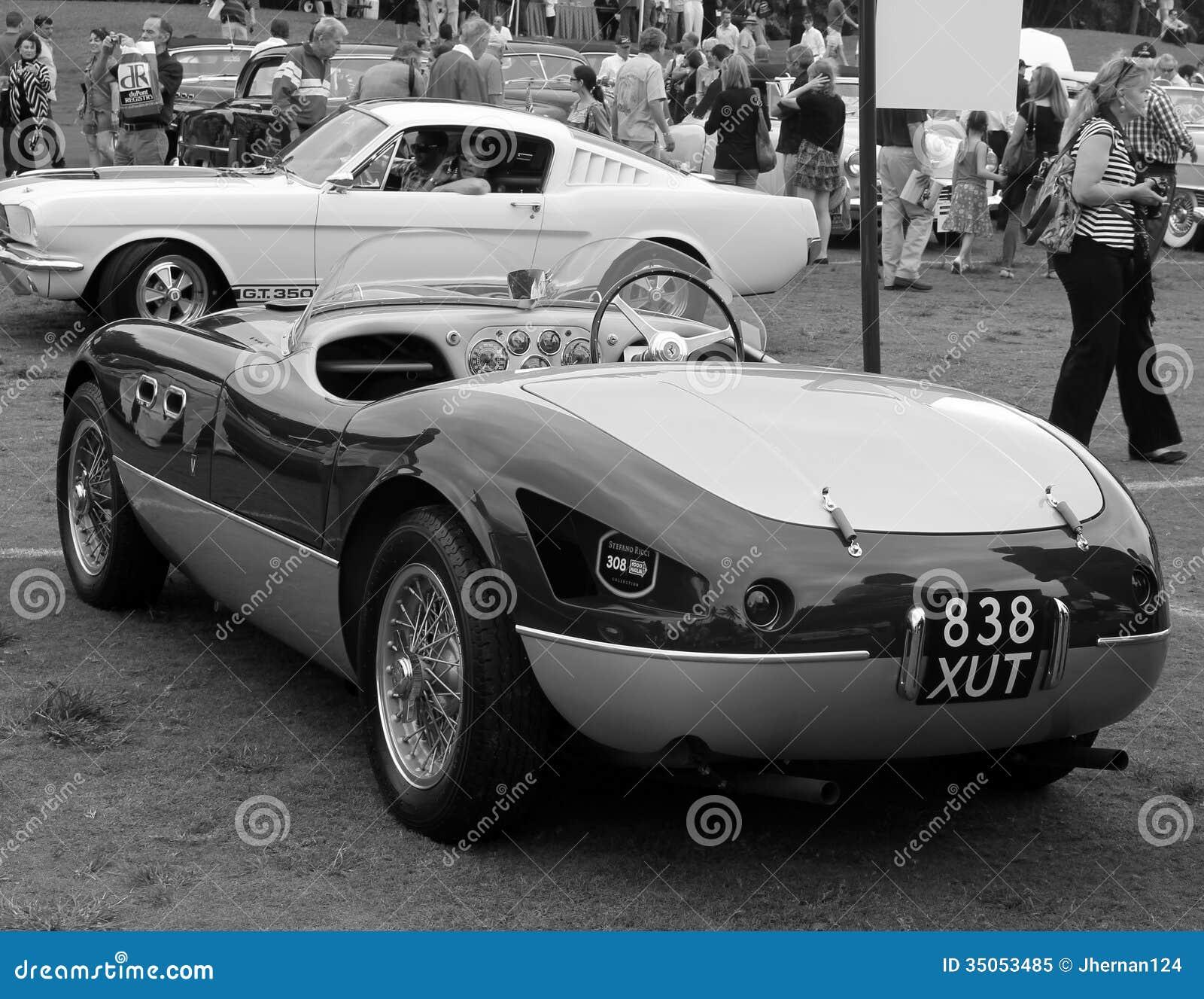 Vintage Ferrari Sports Car Editorial Image Image Of Holes 35053485