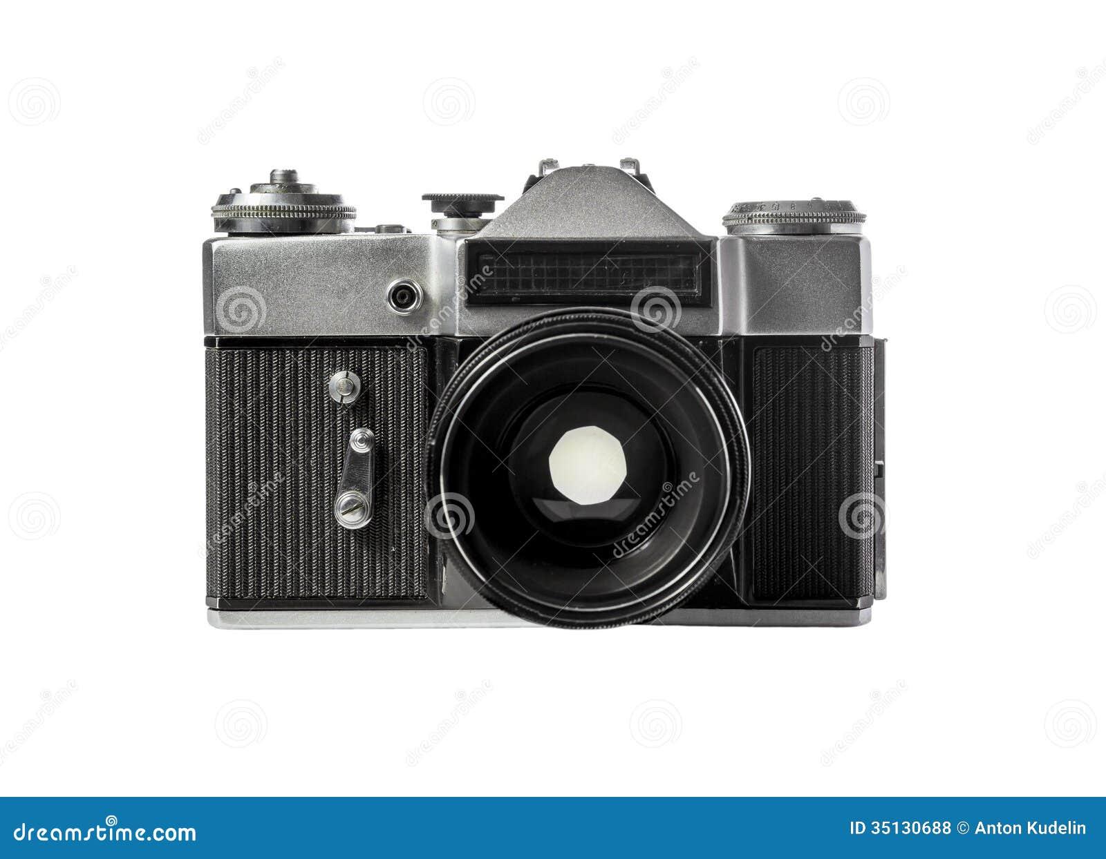Old Fashion Nikon Black Camera