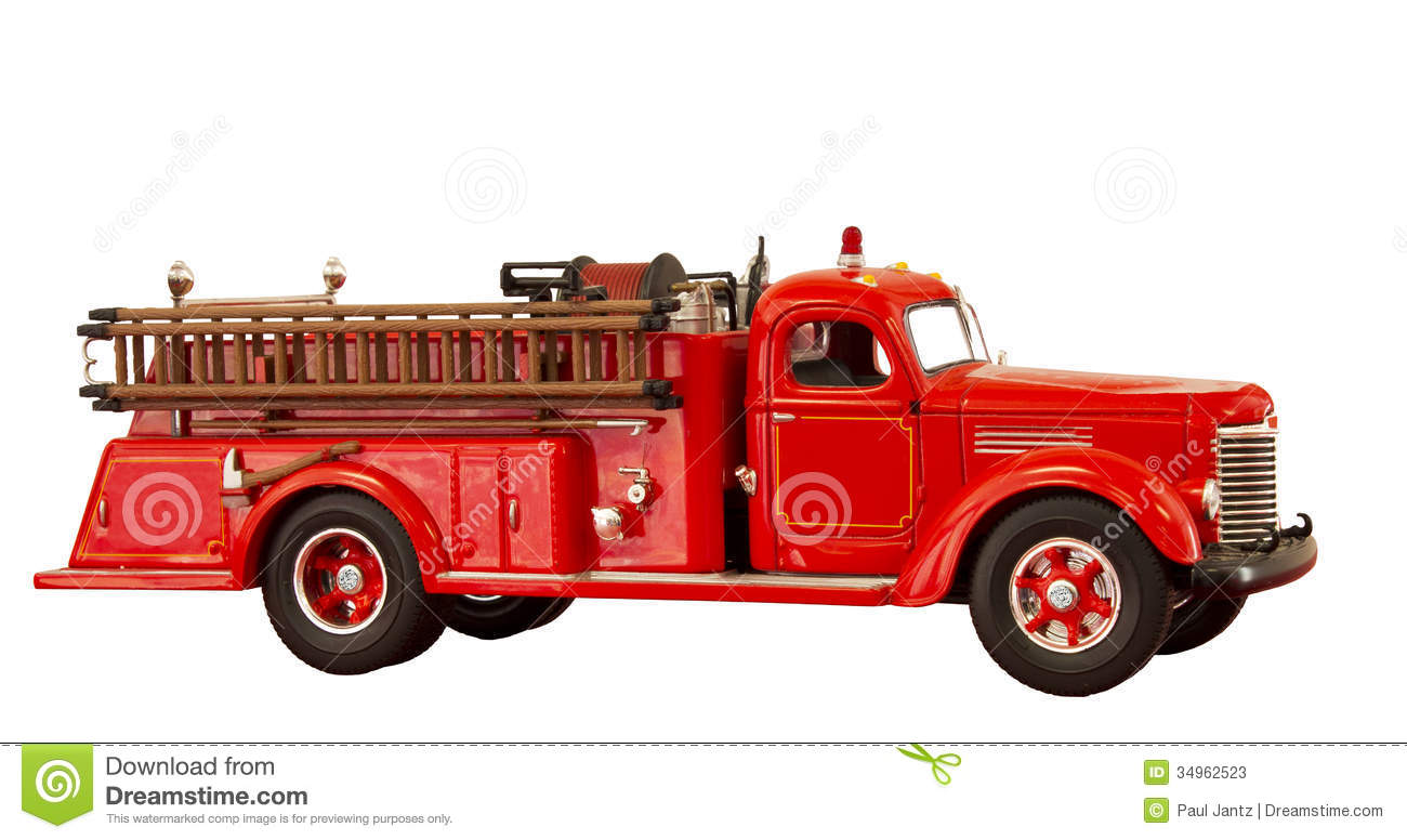 1955 Ford Fire Truck For Sale