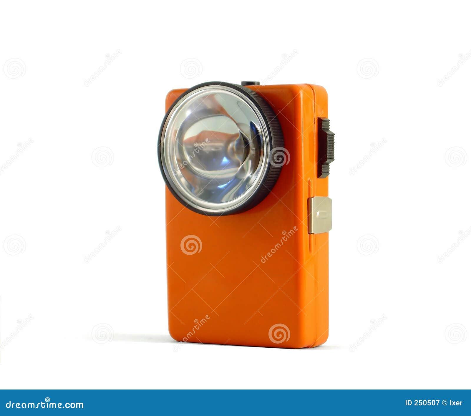 A Vintage Flashlight Retro 02 Stock Image Image Of Power