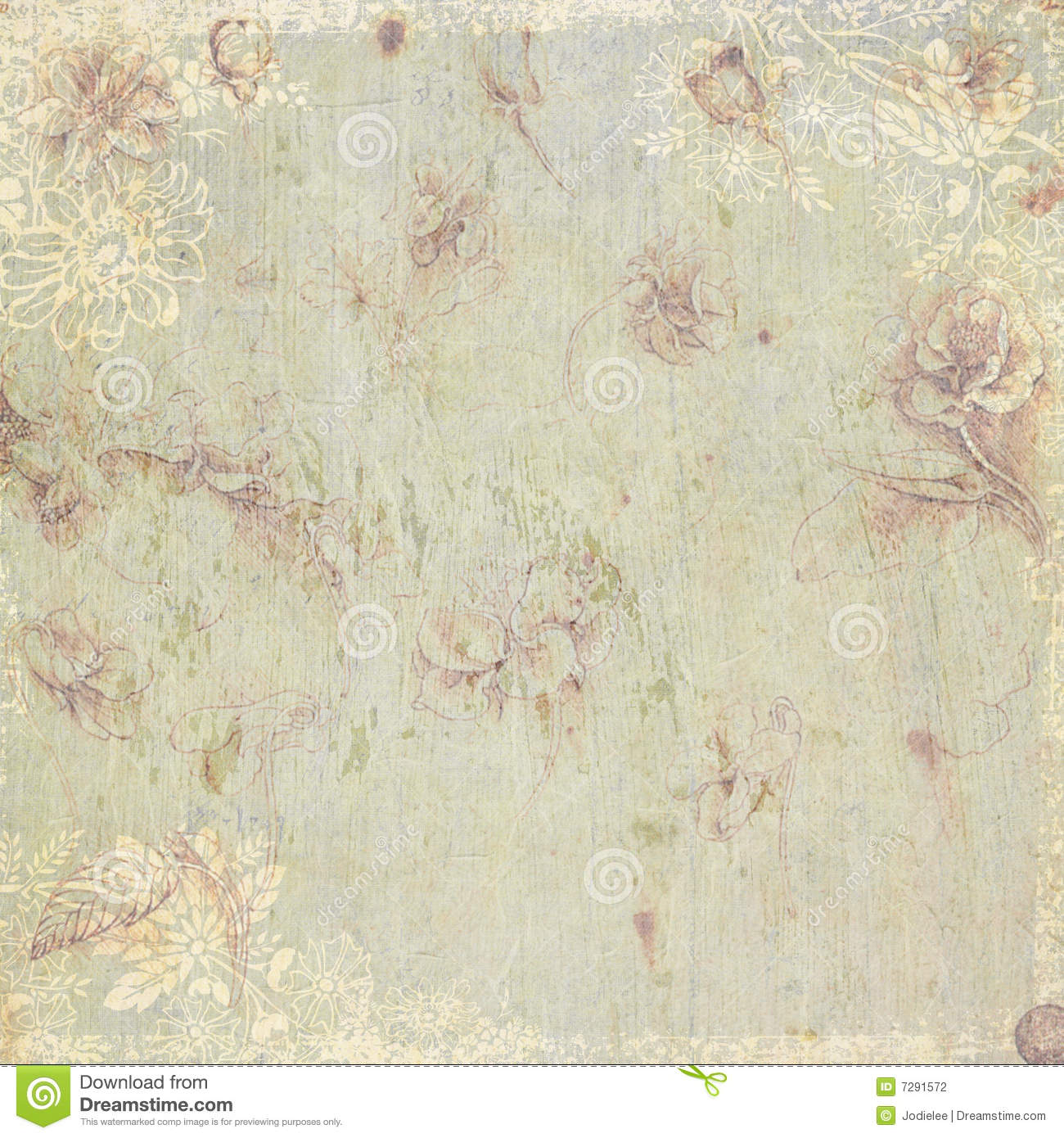 Https Www Dreamstime Com Stock Photography Vintage Floral Antique Background Theme Image7291572