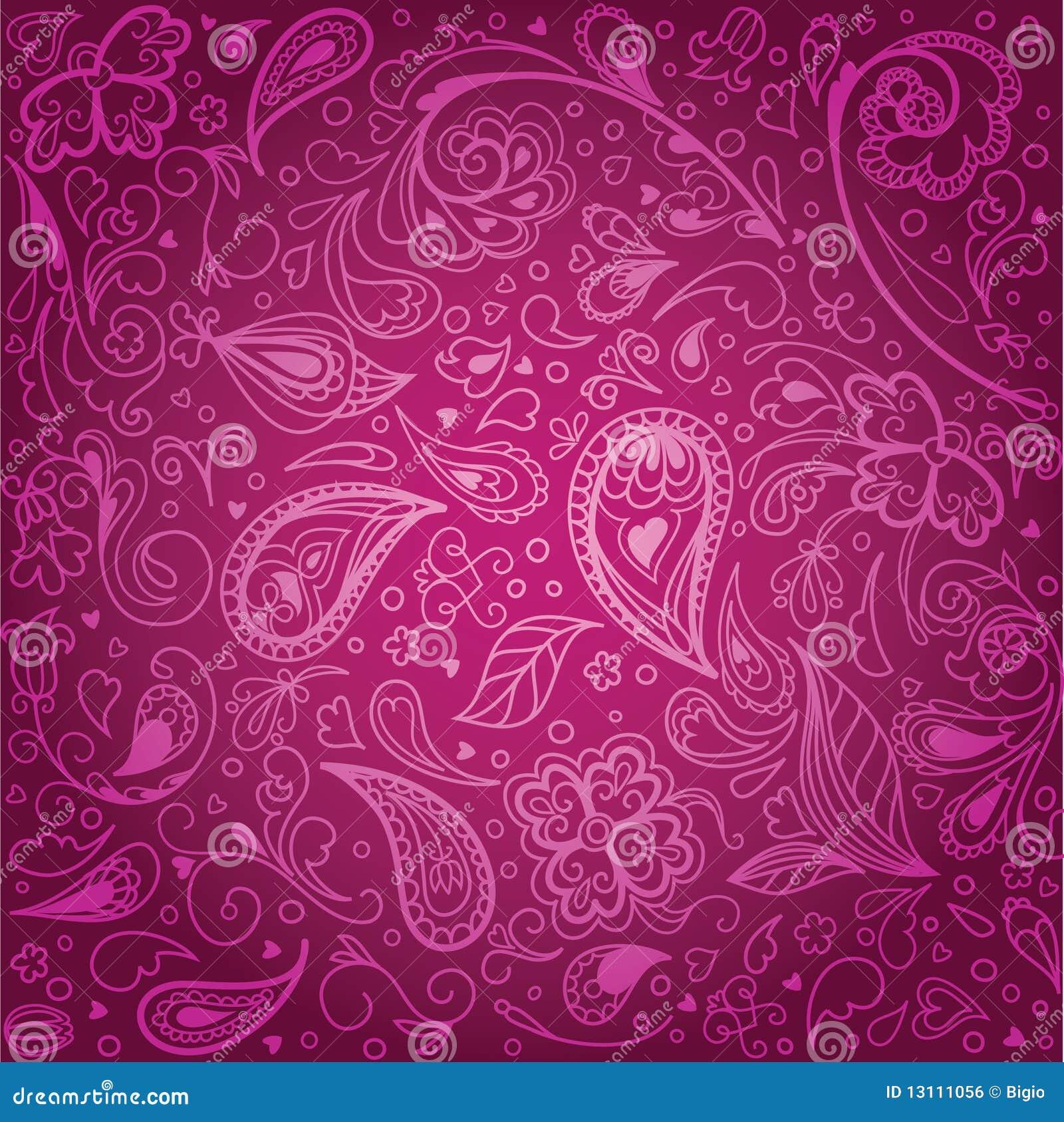 Vintage Floral Background Royalty Free Stock Image - Image: 13111056