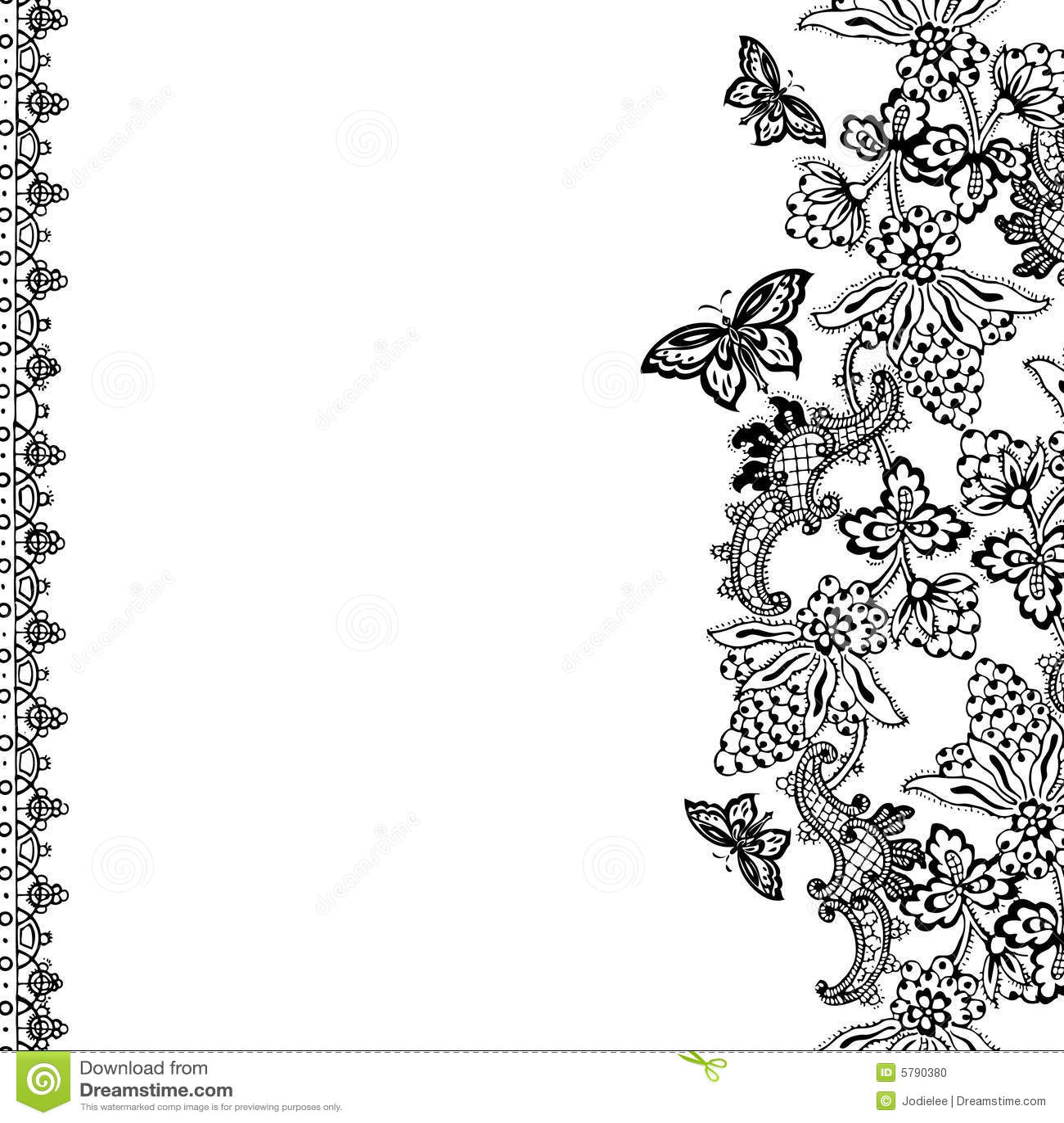 Scrapbook ideas black background - Vintage Floral Scrapbook Background Stock Photo