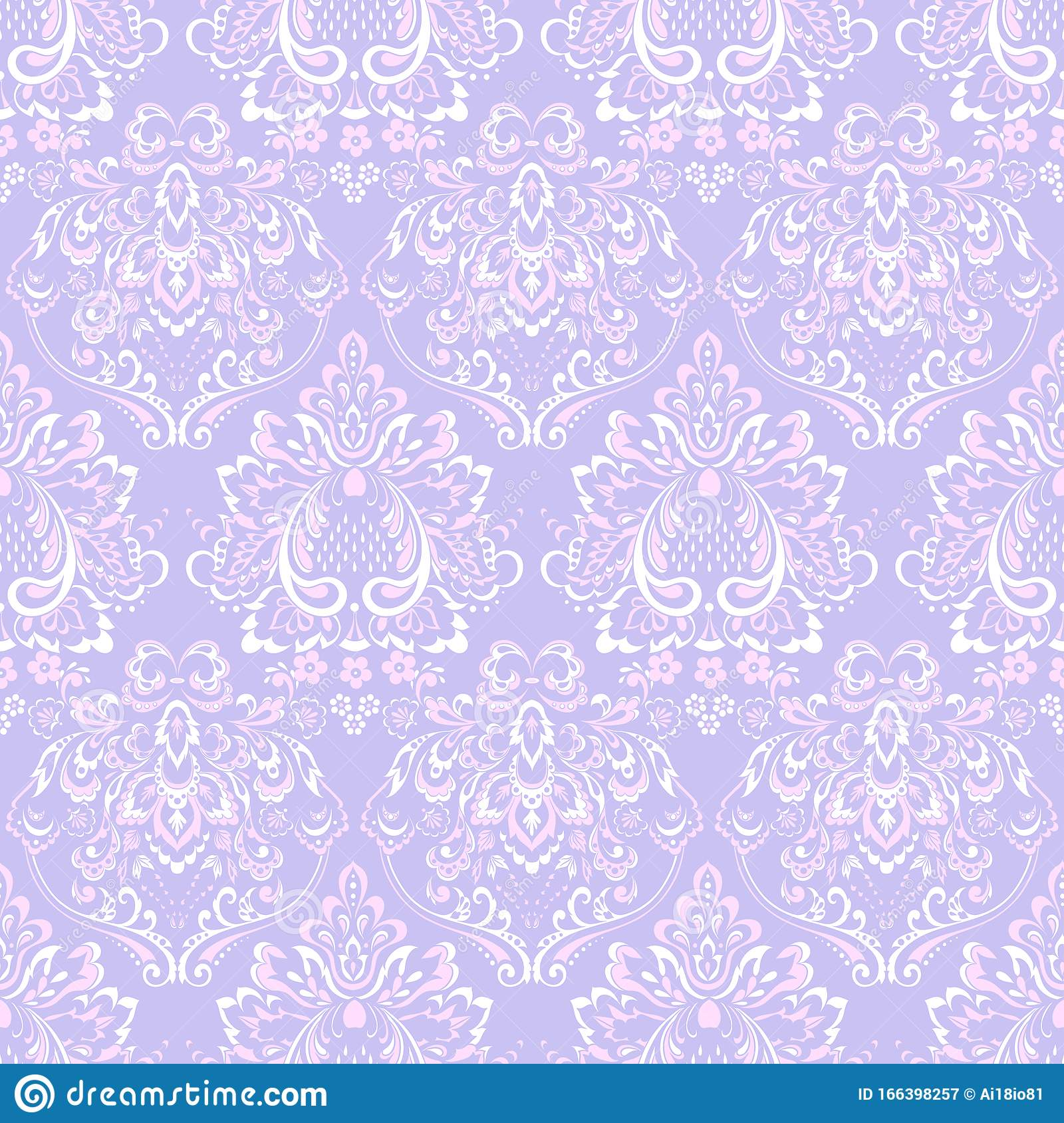 Vintage Floral Seamless Patten Classic Floral Wallpaper Seamless