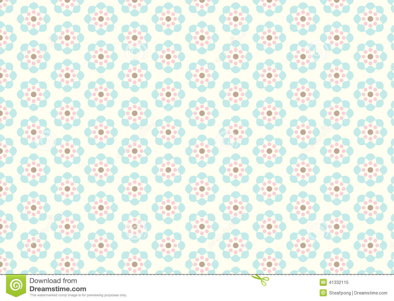 Vintage pastel pattern - photo#8