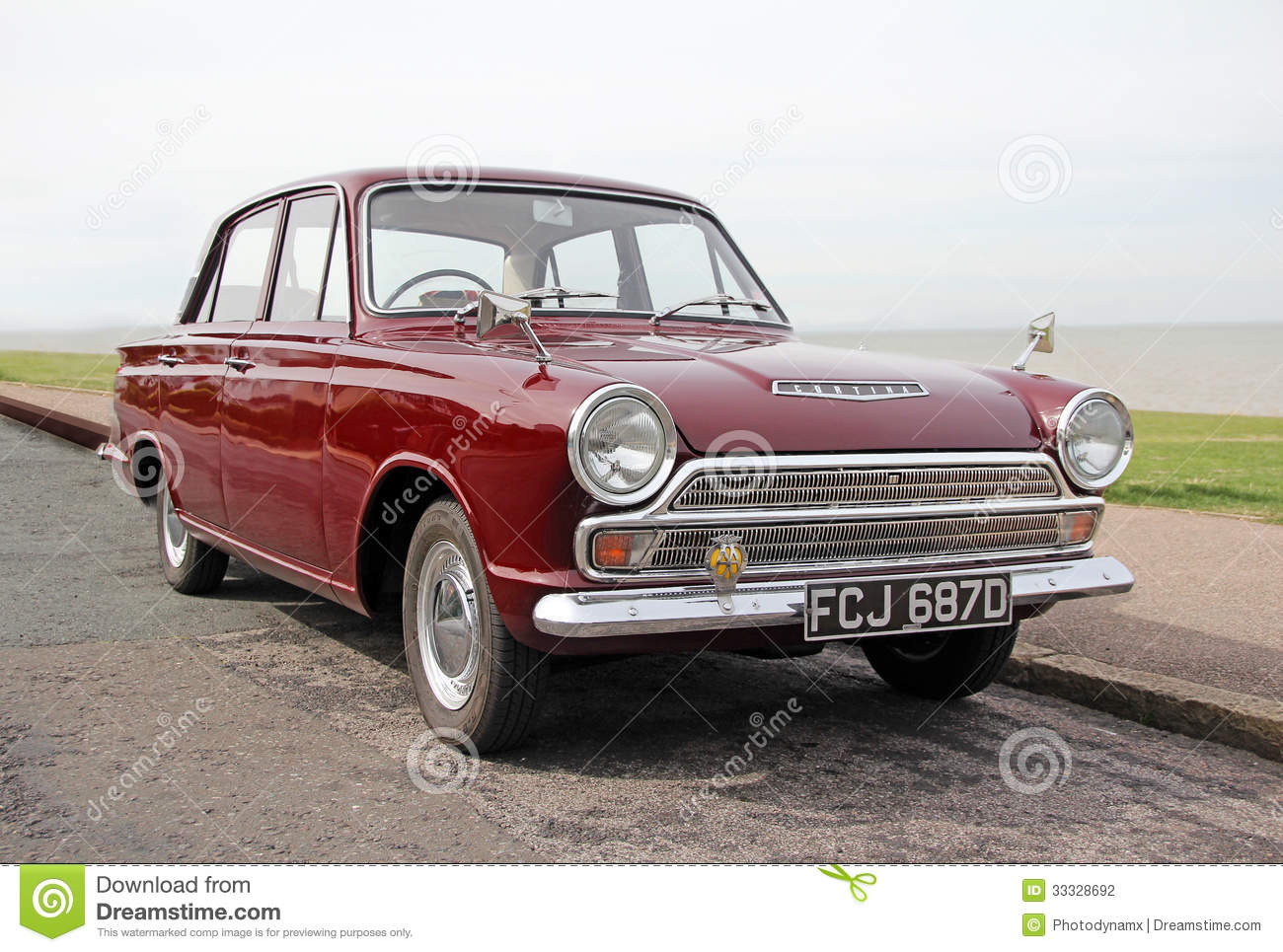 Vintage ford cortina mk1 car editorial photography image for Cortinas vintage