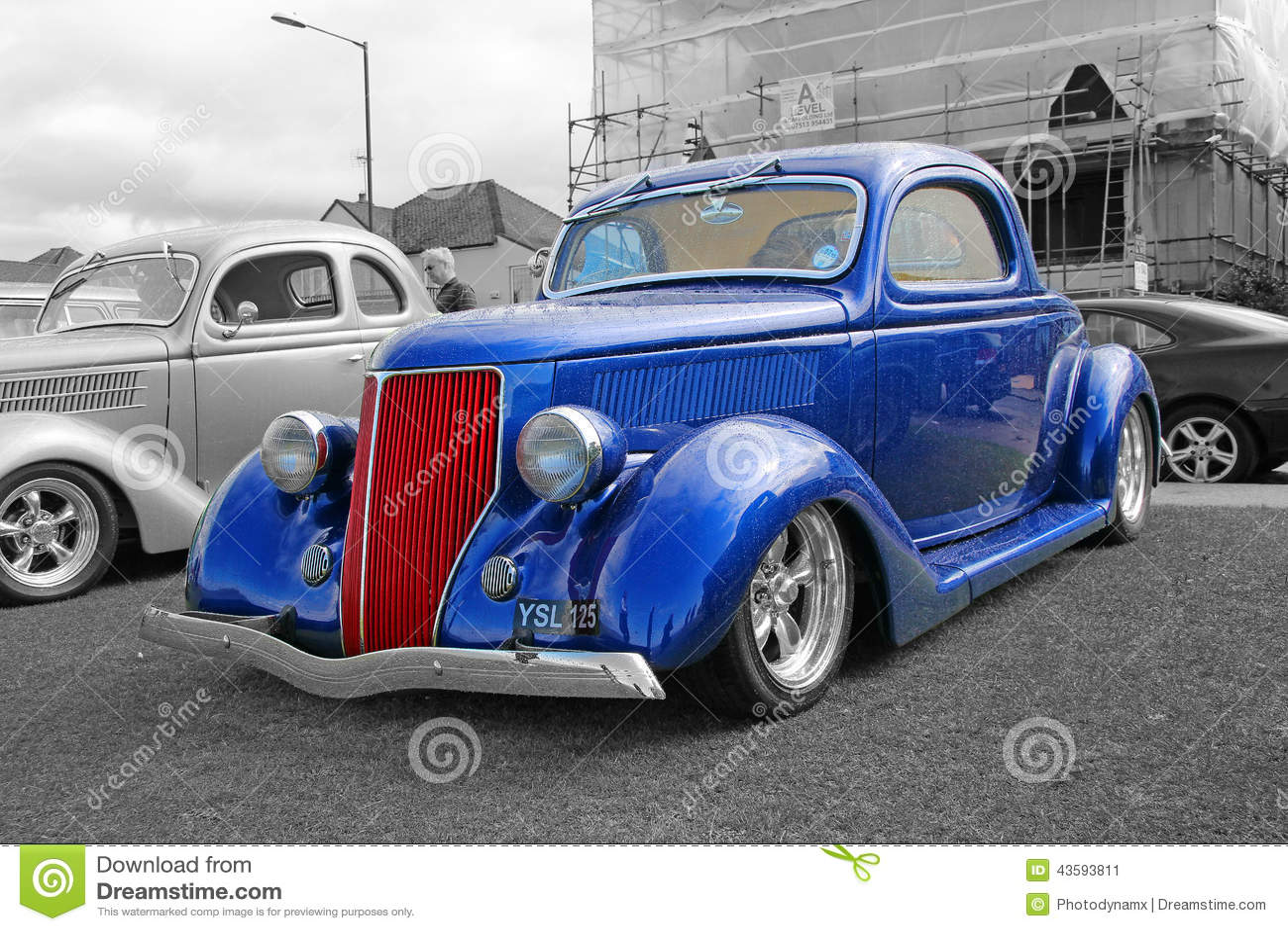 Vintage ford custom car