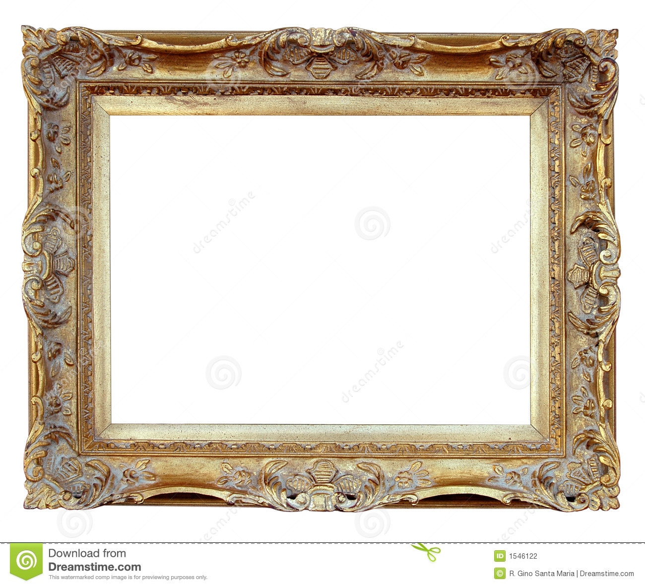 Vintage frame stock photo image of decorate frame for How to make vintage frames