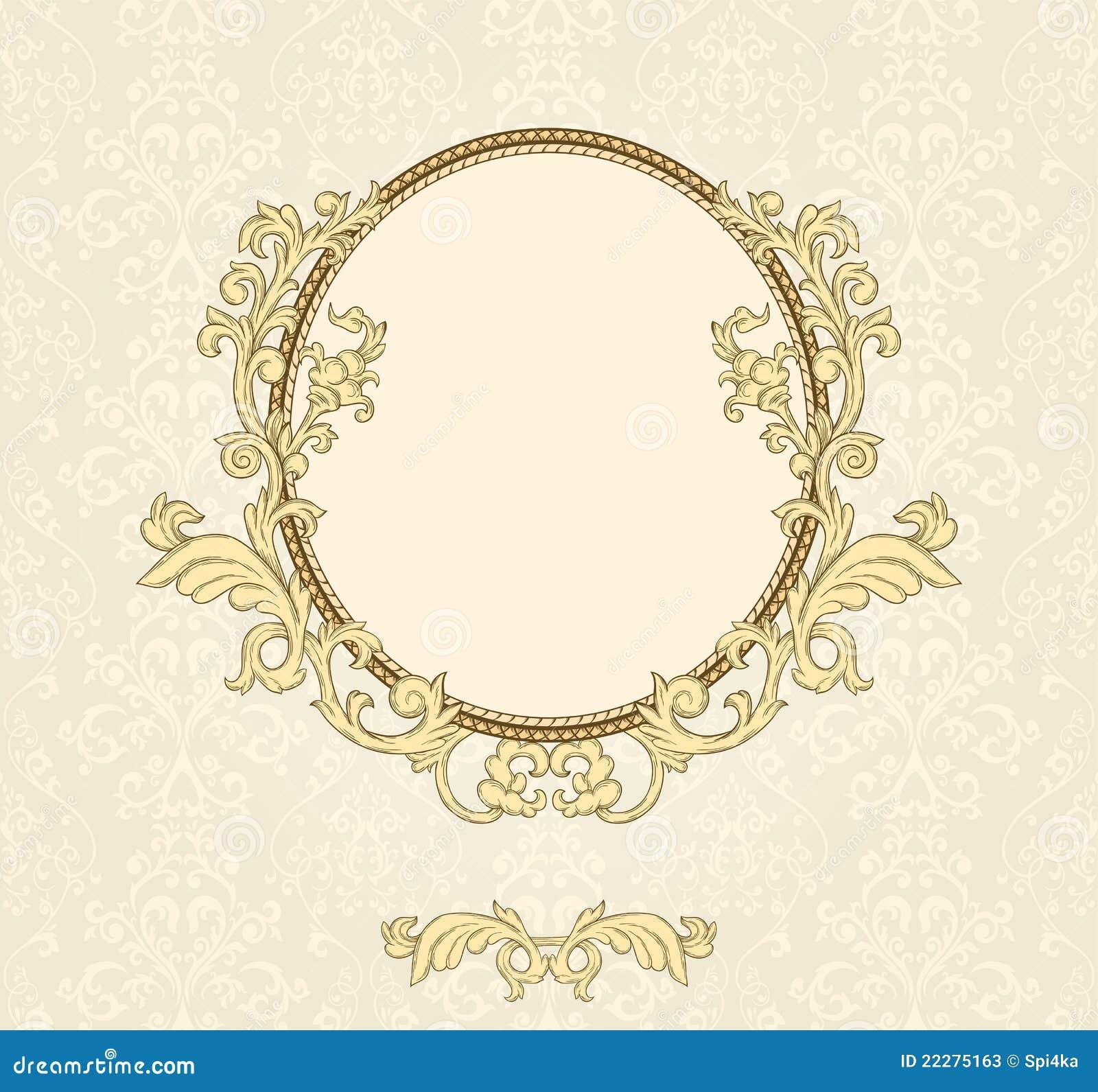 Vintage Frame Stock Vector Illustration Of Ornament 22275163