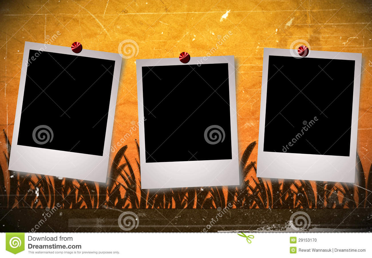 Vintage Frame Background Design Stock Photo Image 29153170