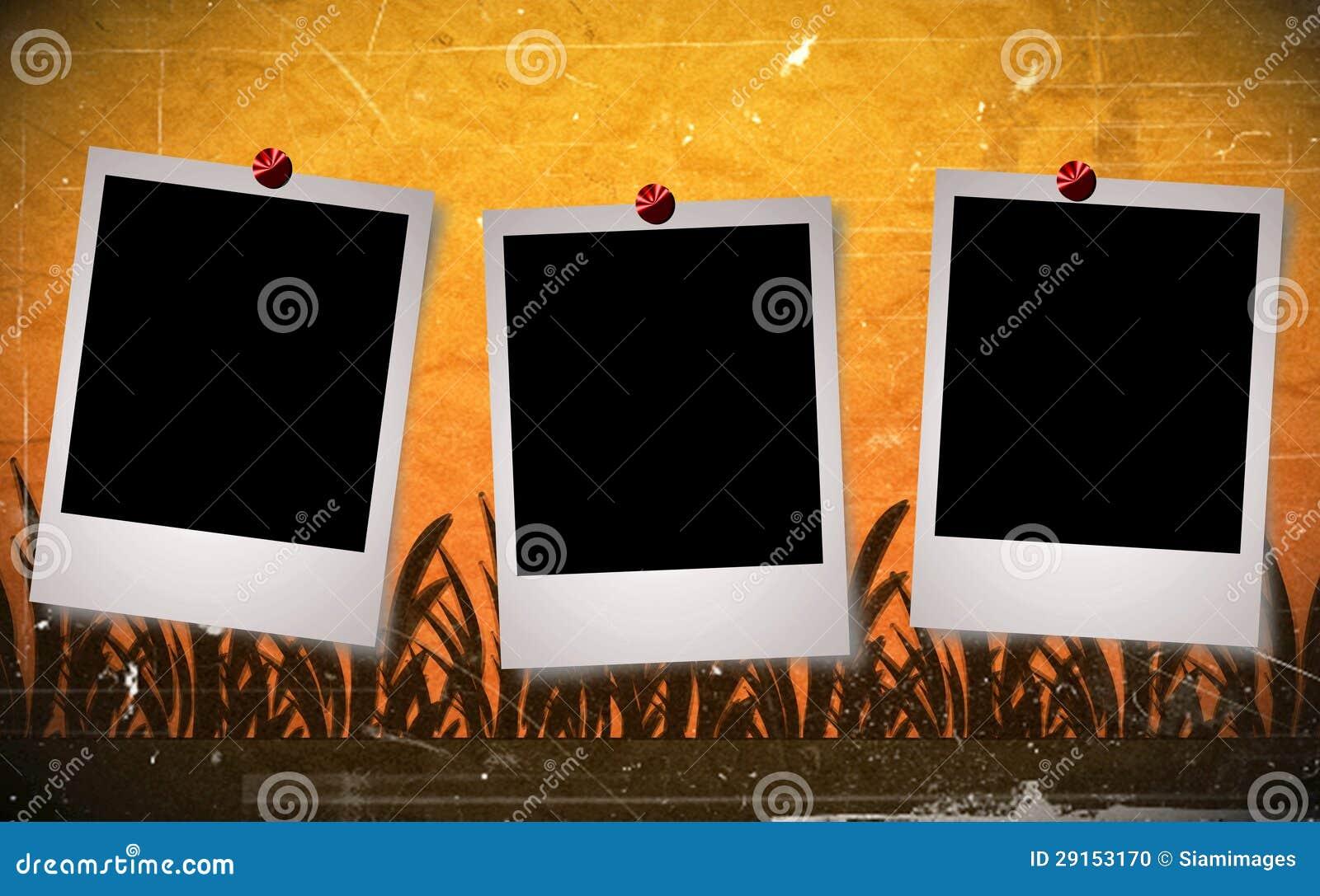Vintage Frame Background Design Stock Illustration Illustration 29153170