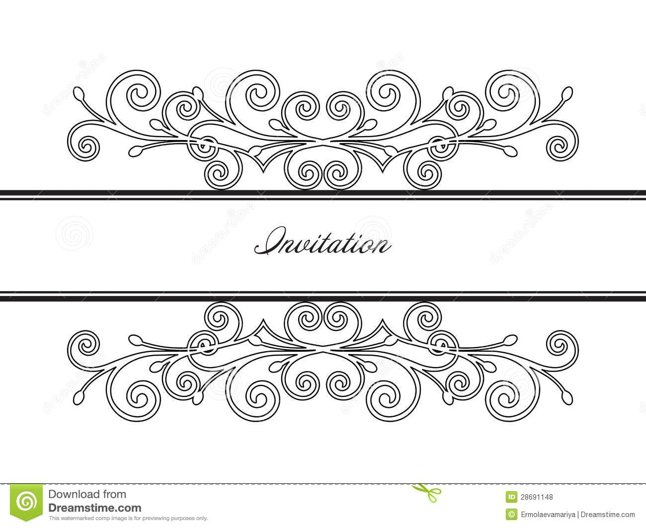 Royalty Free Stock Images Vintage Decorative Frame Vector Pictures