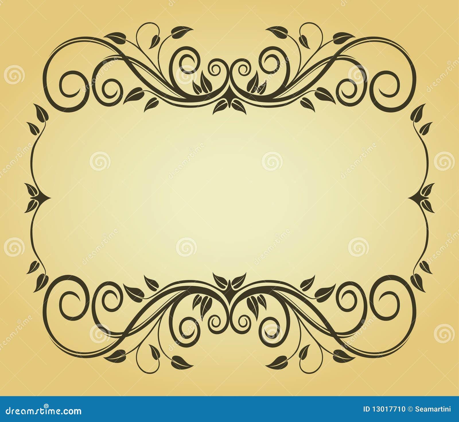 Vintage Frame For Design Stock Photo - Image: 13017710