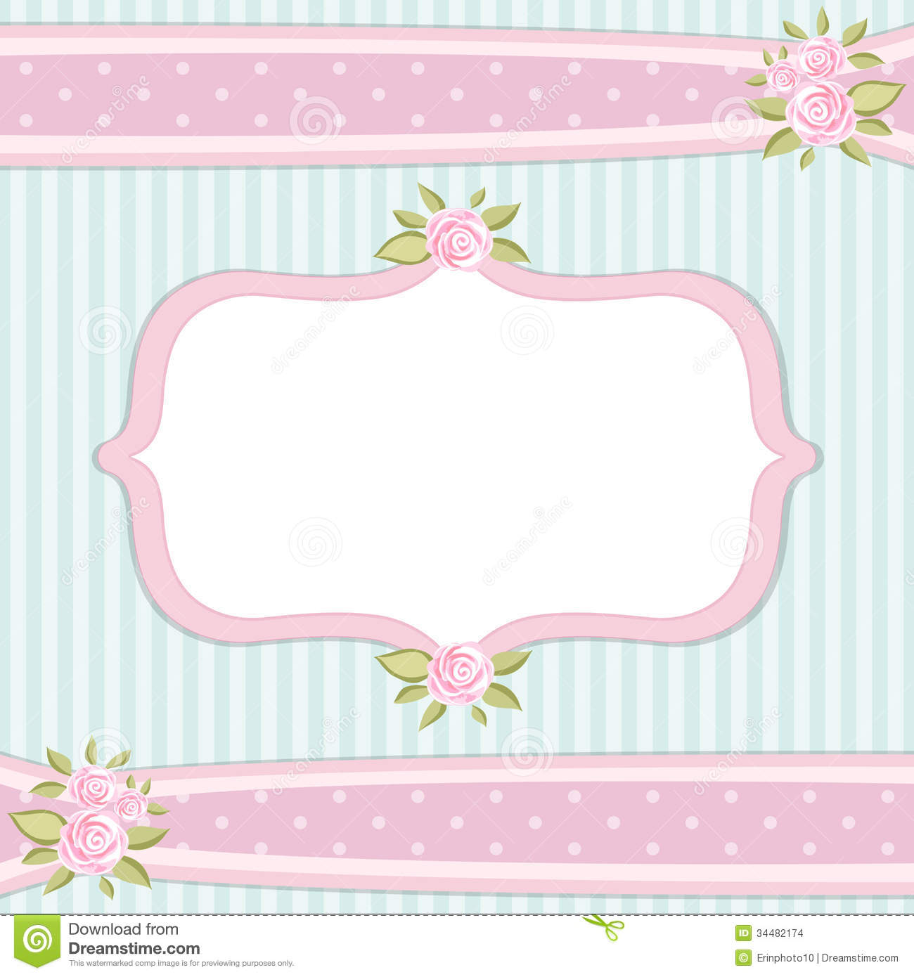 Vintage Frame Stock Vector Image Of Modern Ornate Photo 34482174