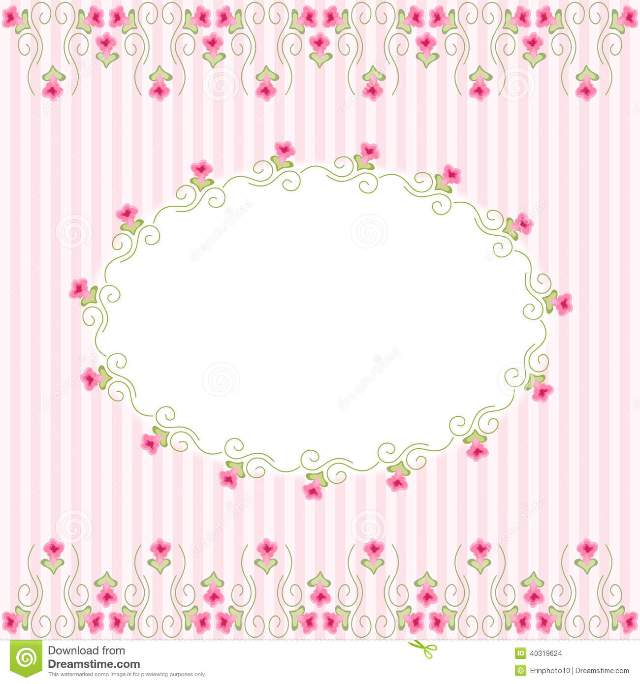 Vintage Frame 2 Stock Vector Image Of Booking Ornate