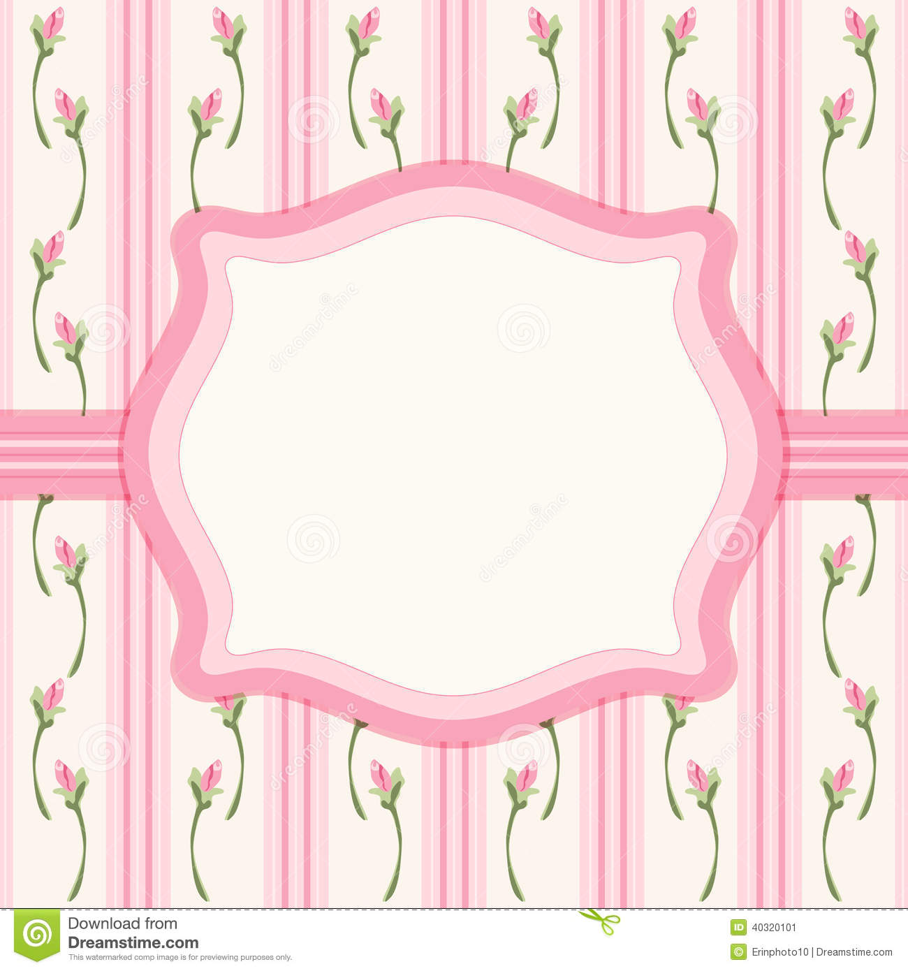 Vintage Frame 7 Stock Vector Illustration Of Garden 40320101