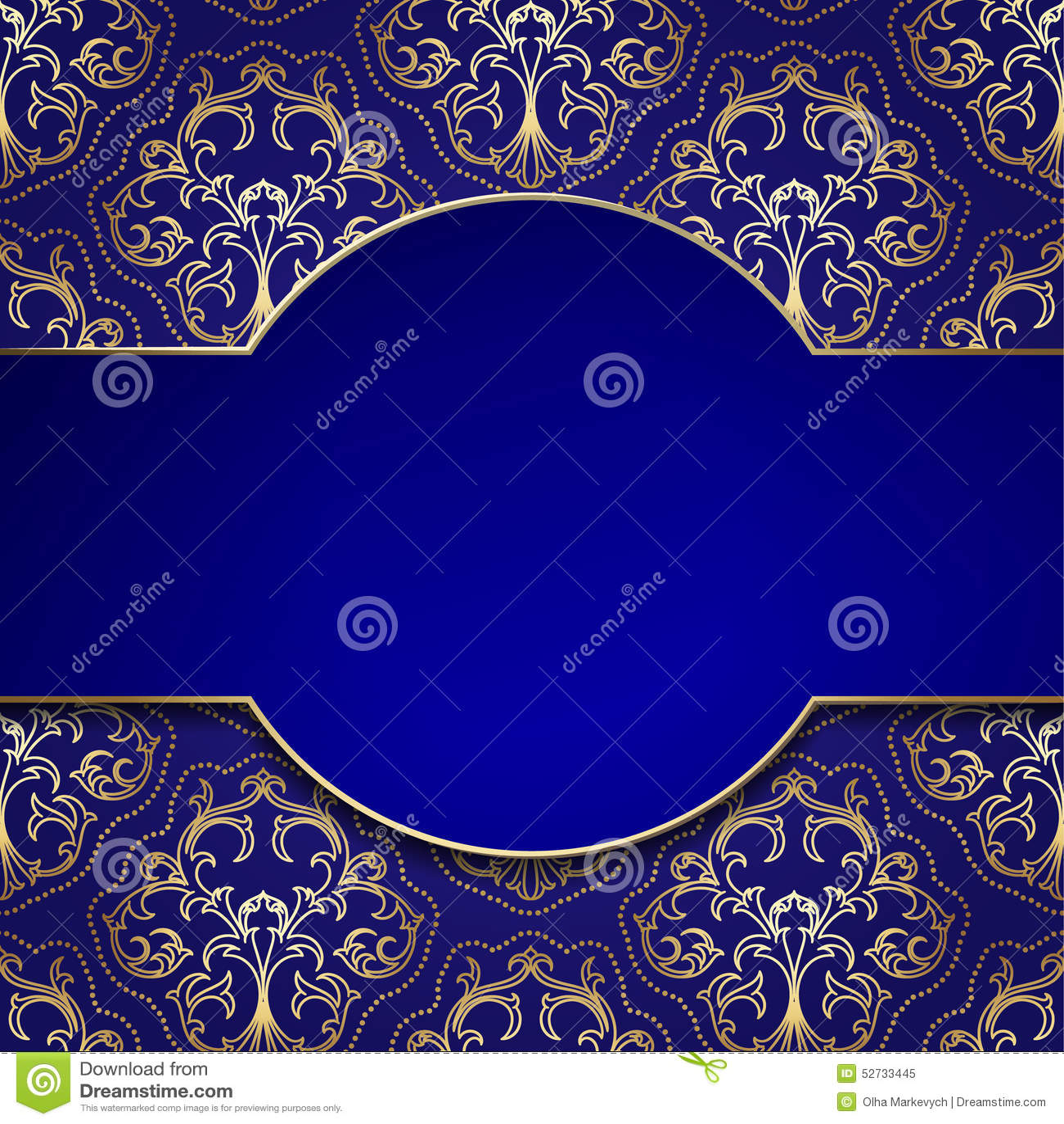 Vintage Frame stock vector. Image of banner, luxury, badge ...