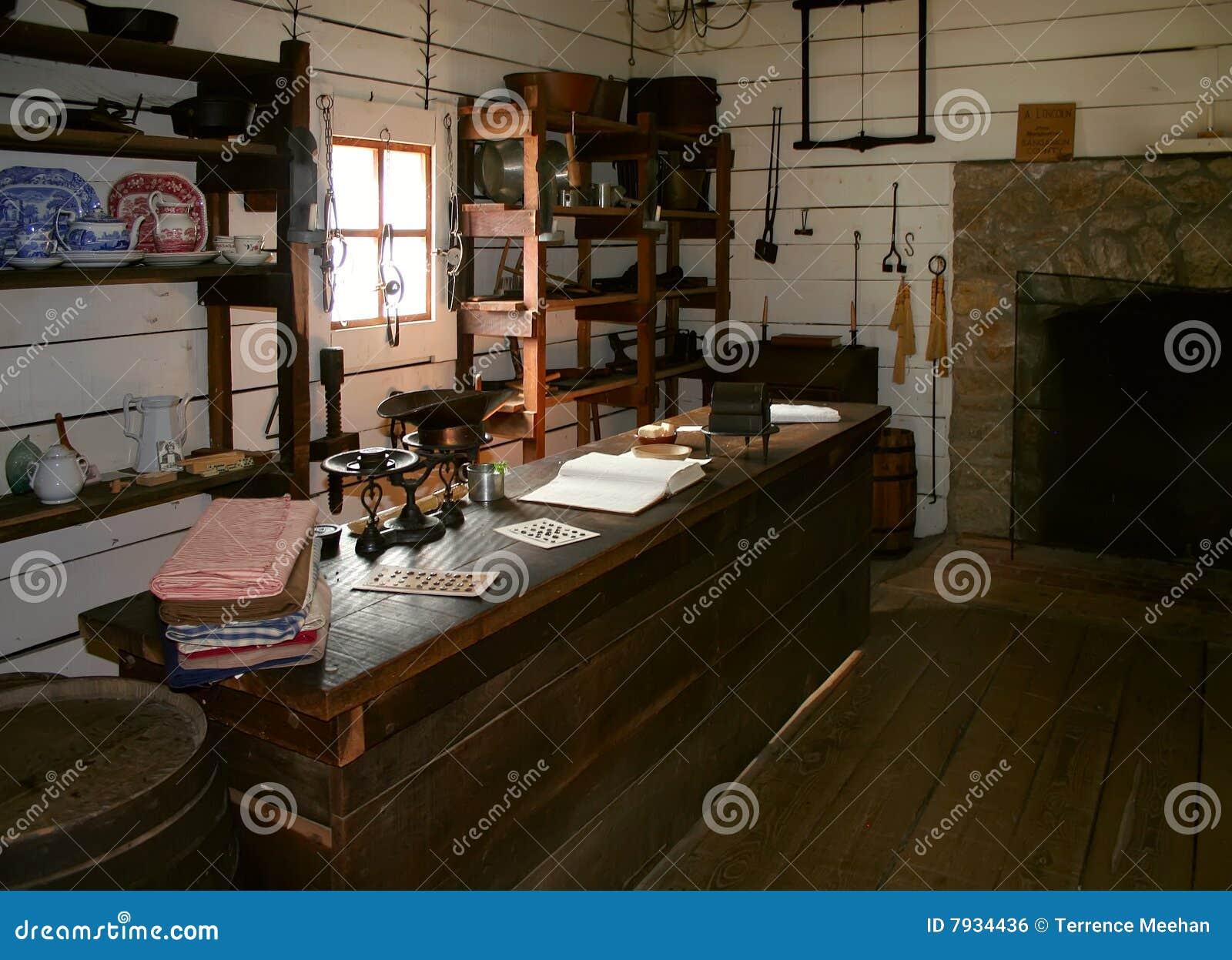 Vintage general store