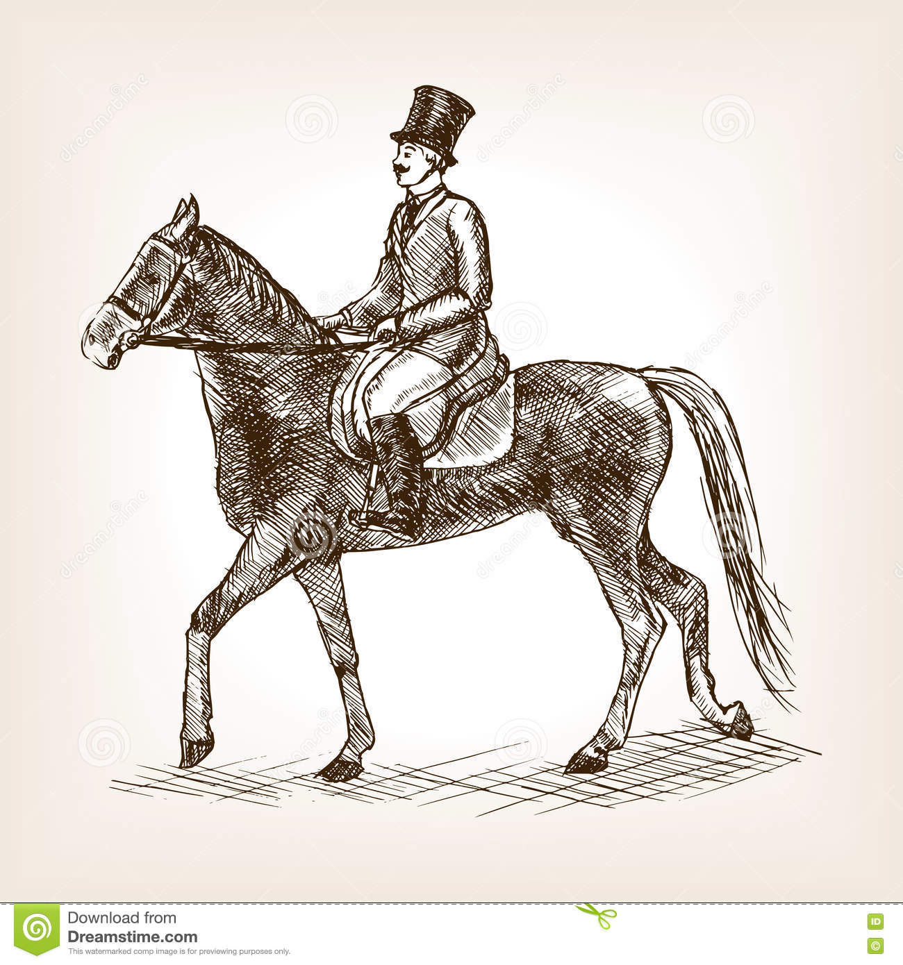 Vintage Horse Stock Illustrations 23 777 Vintage Horse Stock Illustrations Vectors Clipart Dreamstime