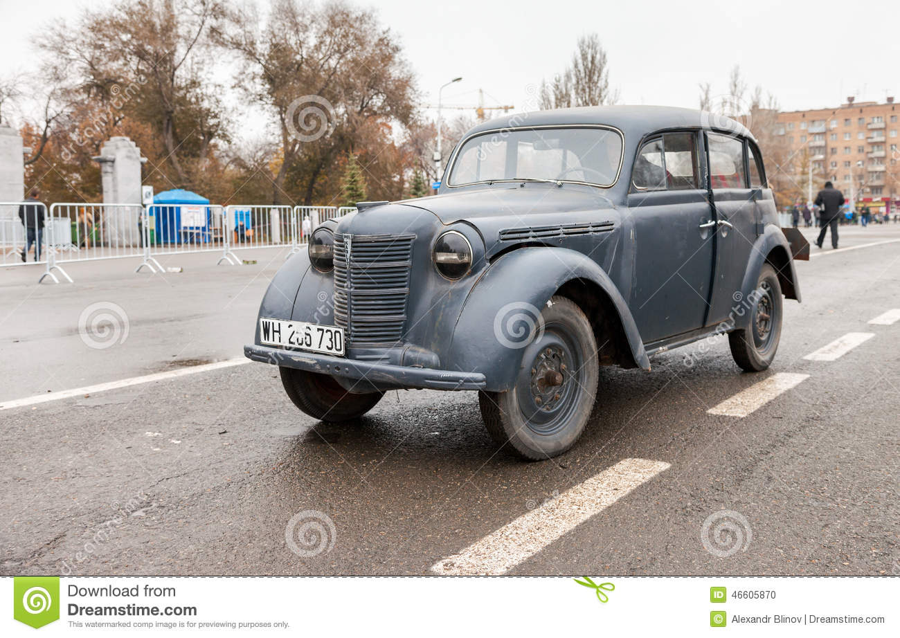 Vintage German Car Opel Kadett 1939 Editorial Image
