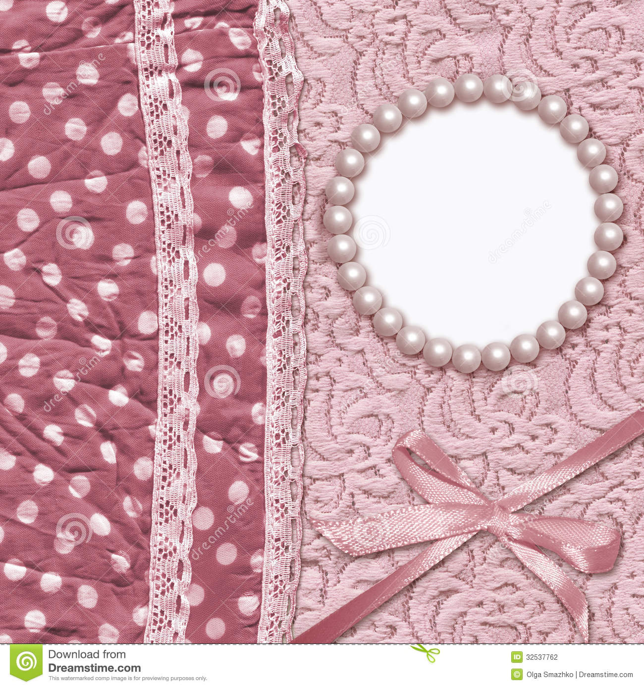 lace pearls pink wallpaper - photo #38