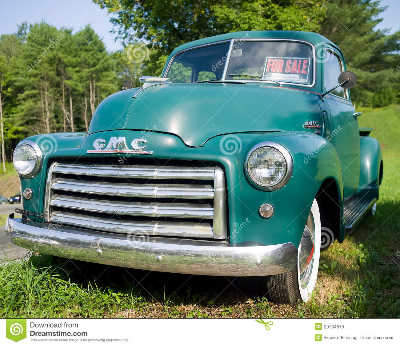 Vintage Truck Bed >> Vintage GMC Pickup Truck editorial stock image. Image of general - 20784679