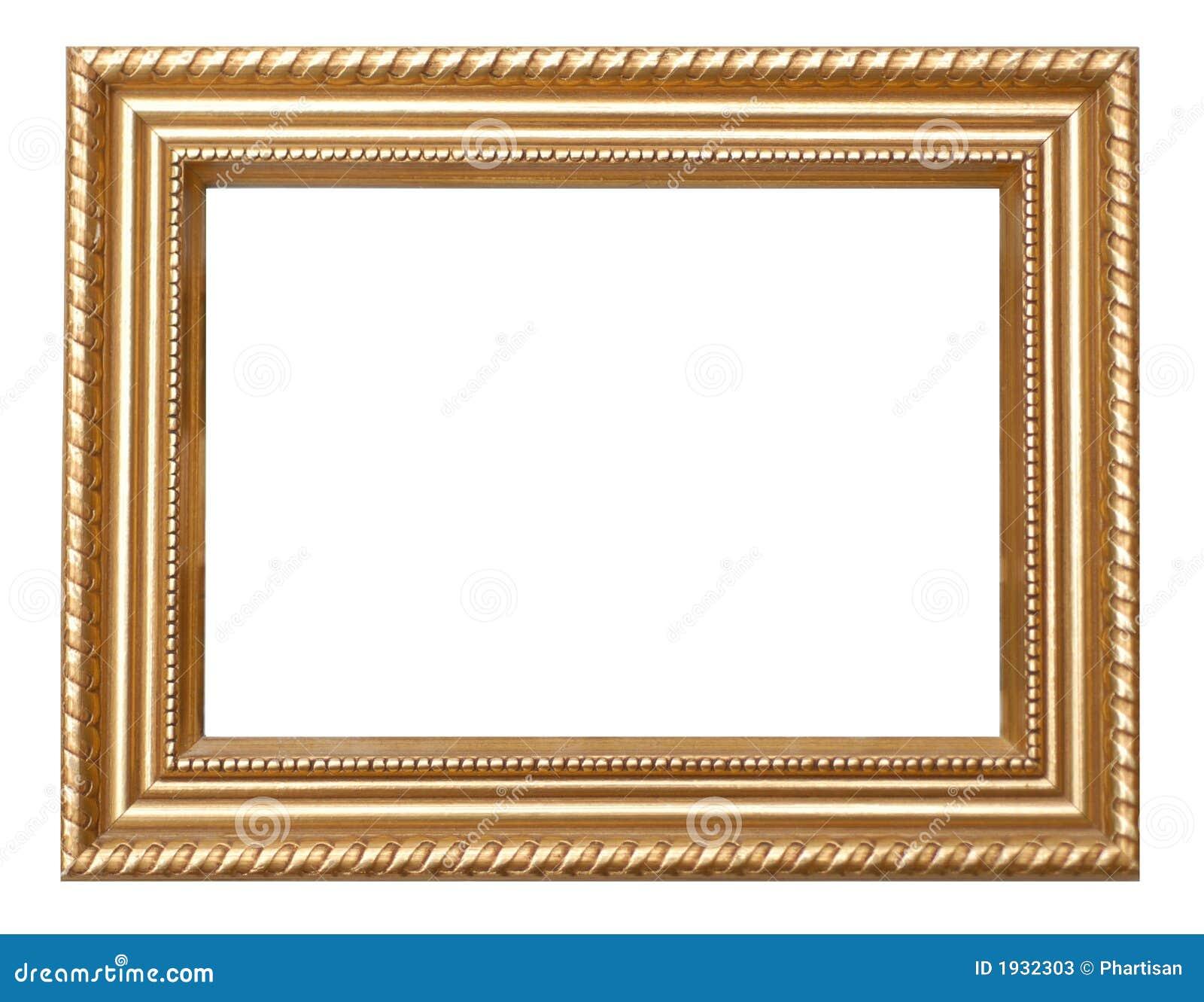 Vintage Gold Frame Stock Image Of Portrait Square