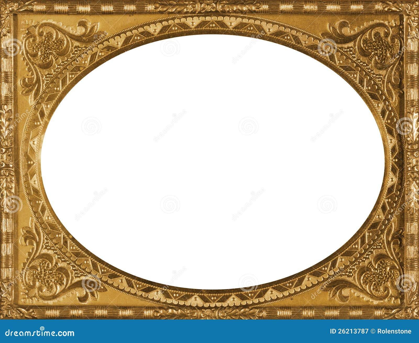 gold frame border vintage vintage gold frame stock image image of decoration old 26213787
