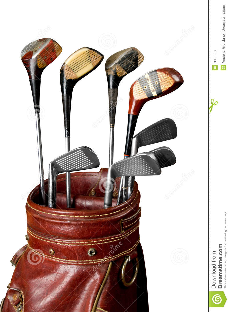 Vintage Golf Clubs Royalty Free Stock Photography - Image ...