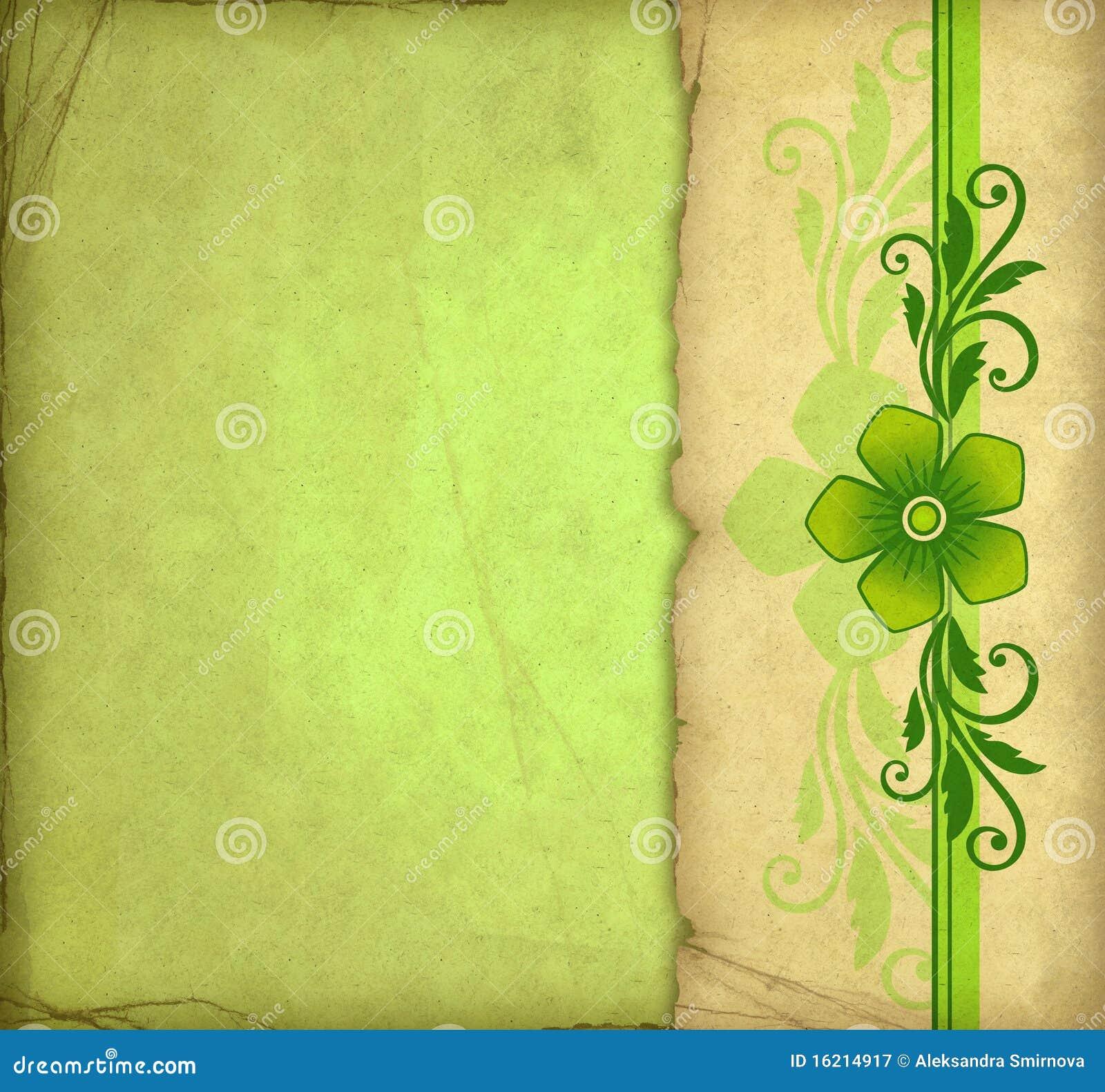 vintage green background stock illustration illustration of manuscript 16214917. Black Bedroom Furniture Sets. Home Design Ideas