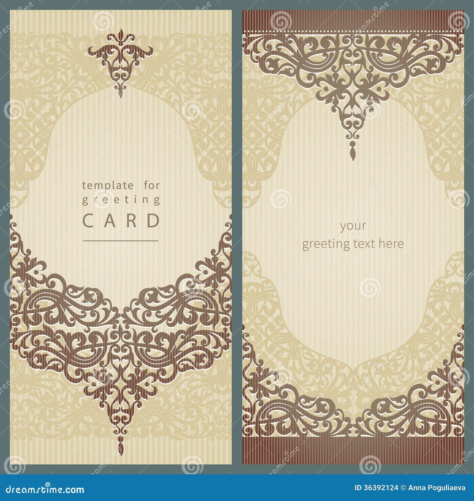 Vintage greeting cards.