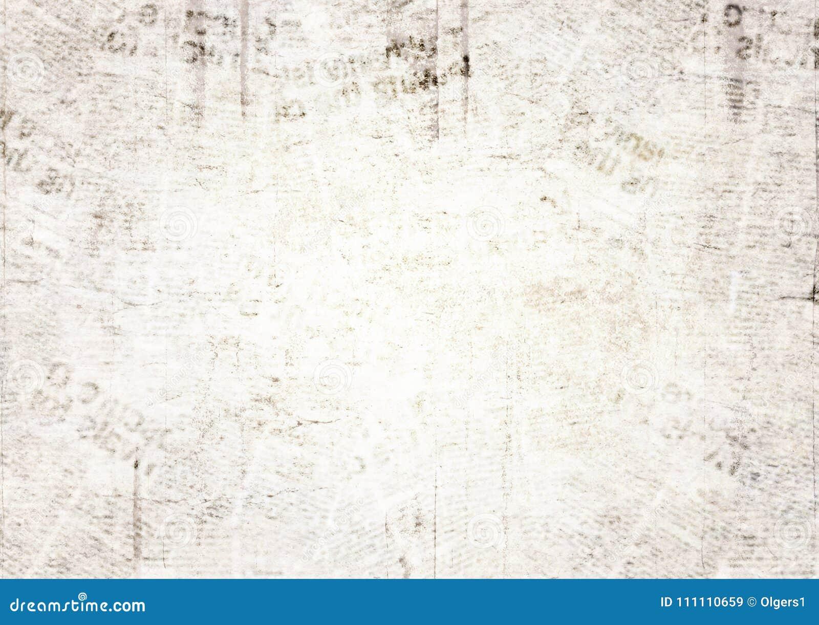 Vintage Grunge Newspaper Texture Background Stock Image