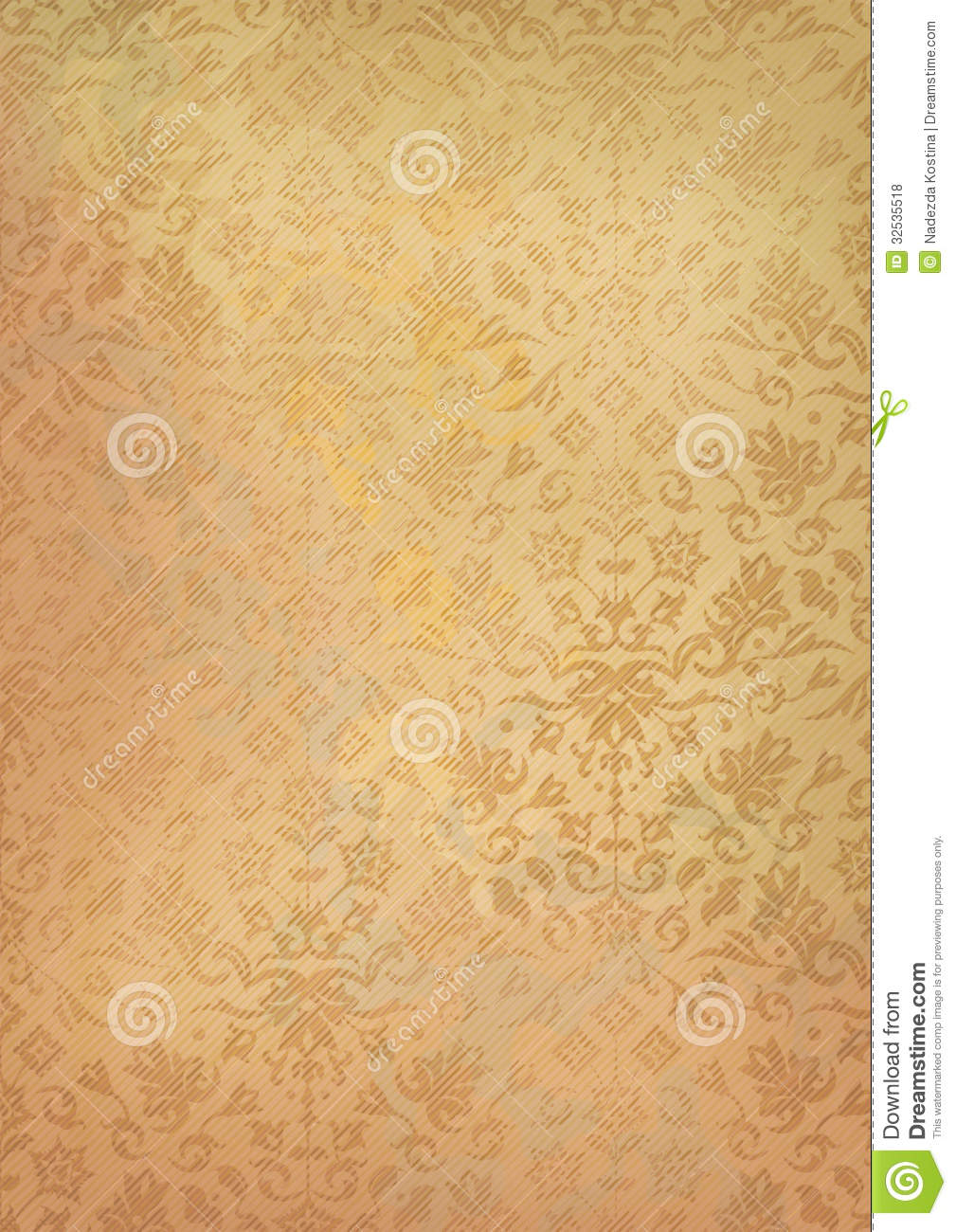 Vintage Grunge Old Paper Background With Pattern Royalty ...