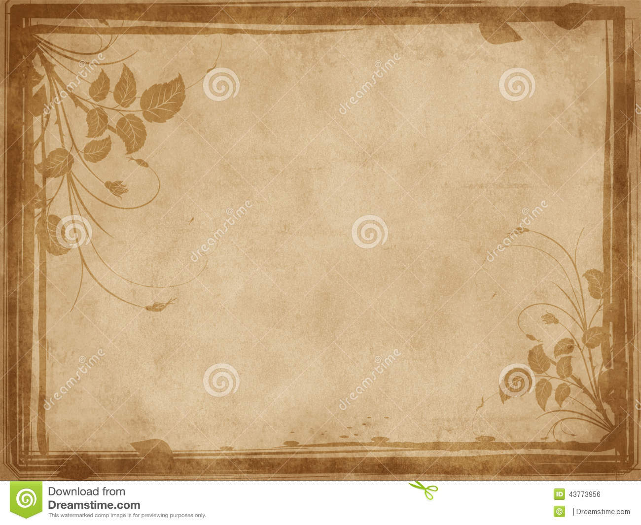 Source Thumbsdreamstime Report Vintage Paper With Border