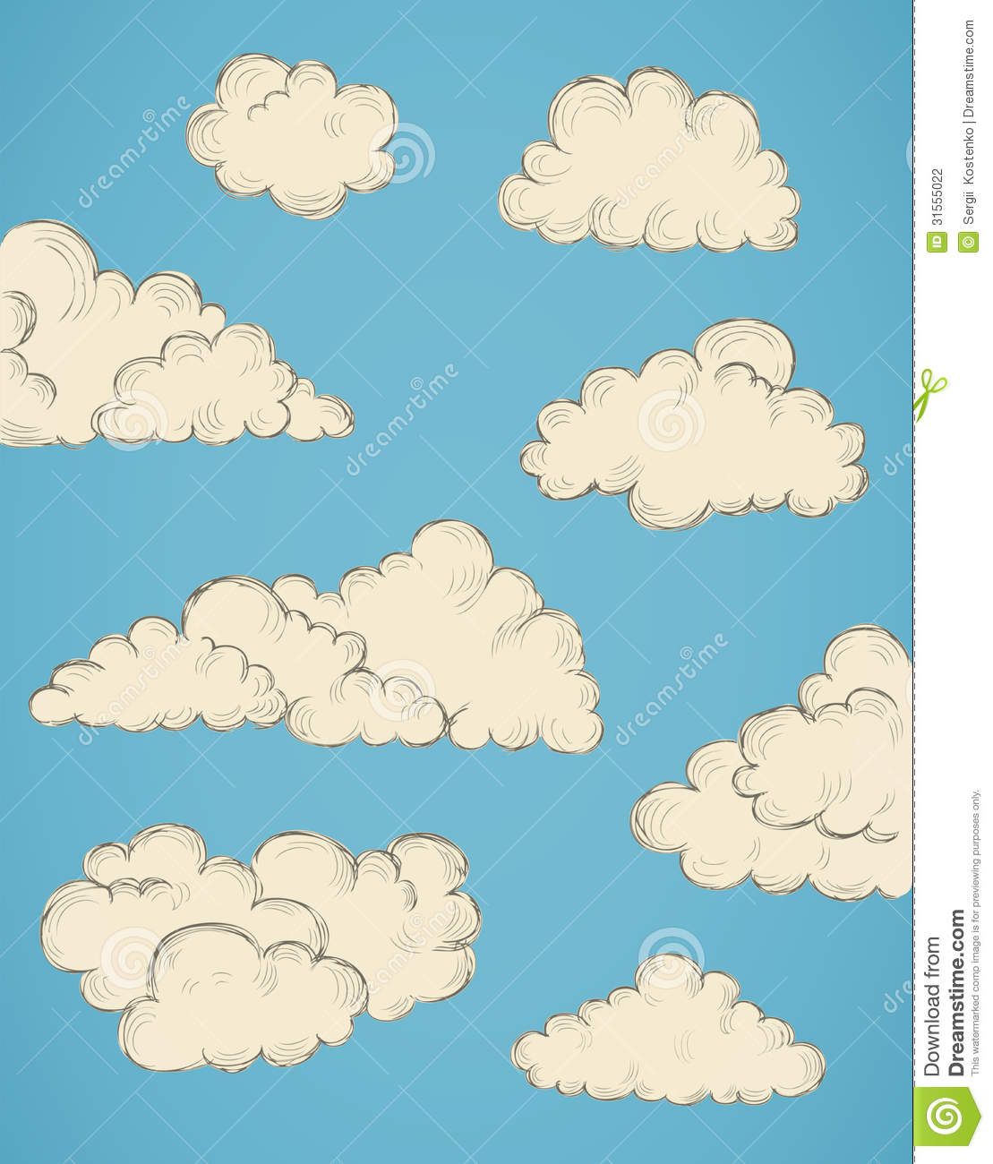 how to make a cloud drawing