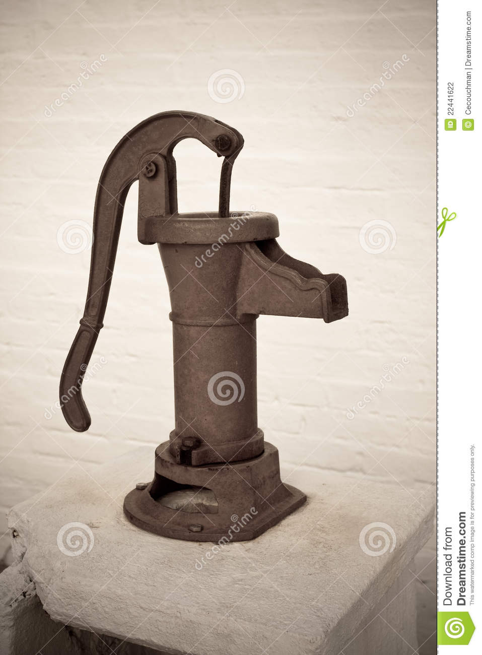 Vintage Hand Water Pump Stock Photography Image 22441622