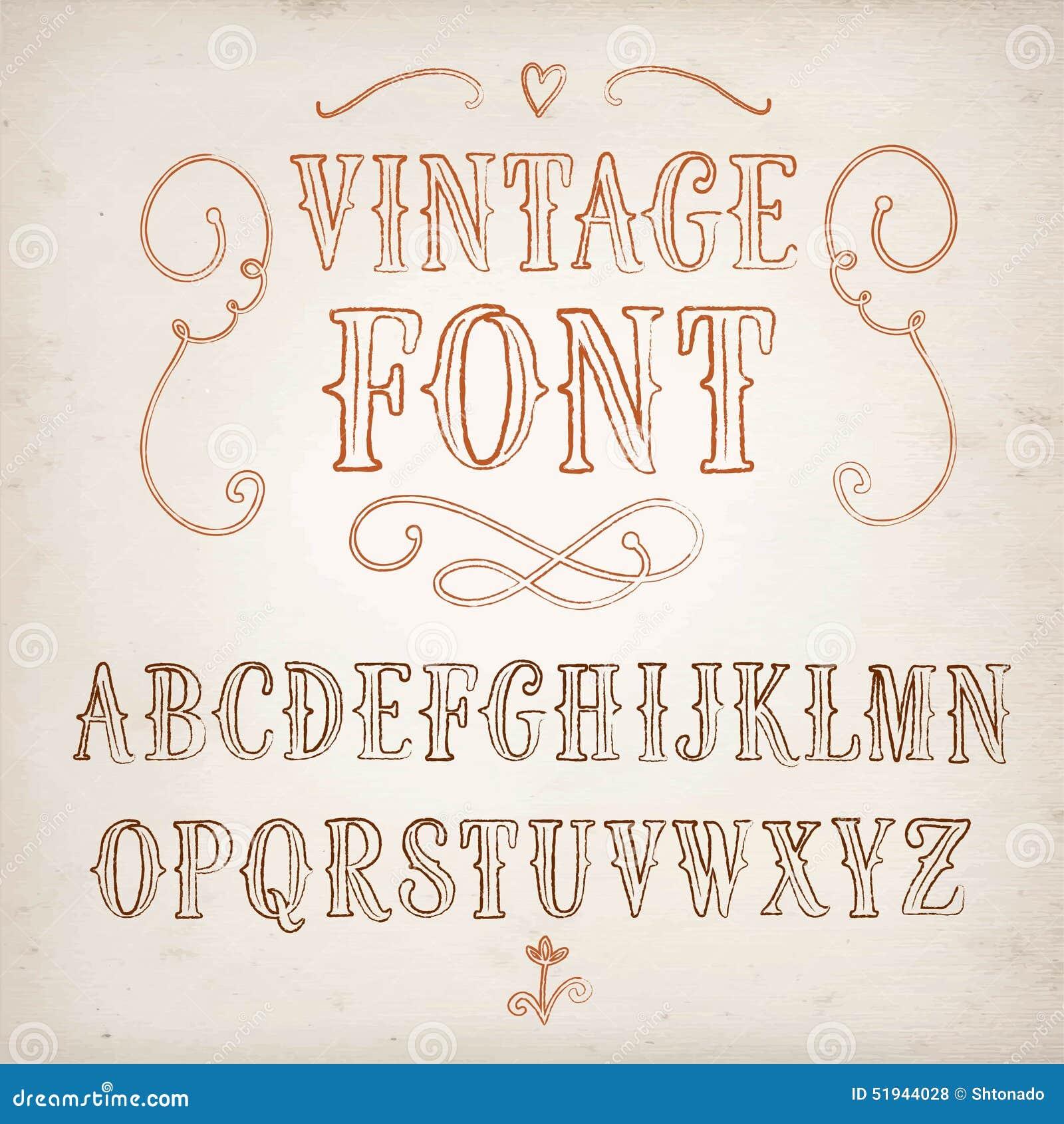 Custom written paper by handwritten font