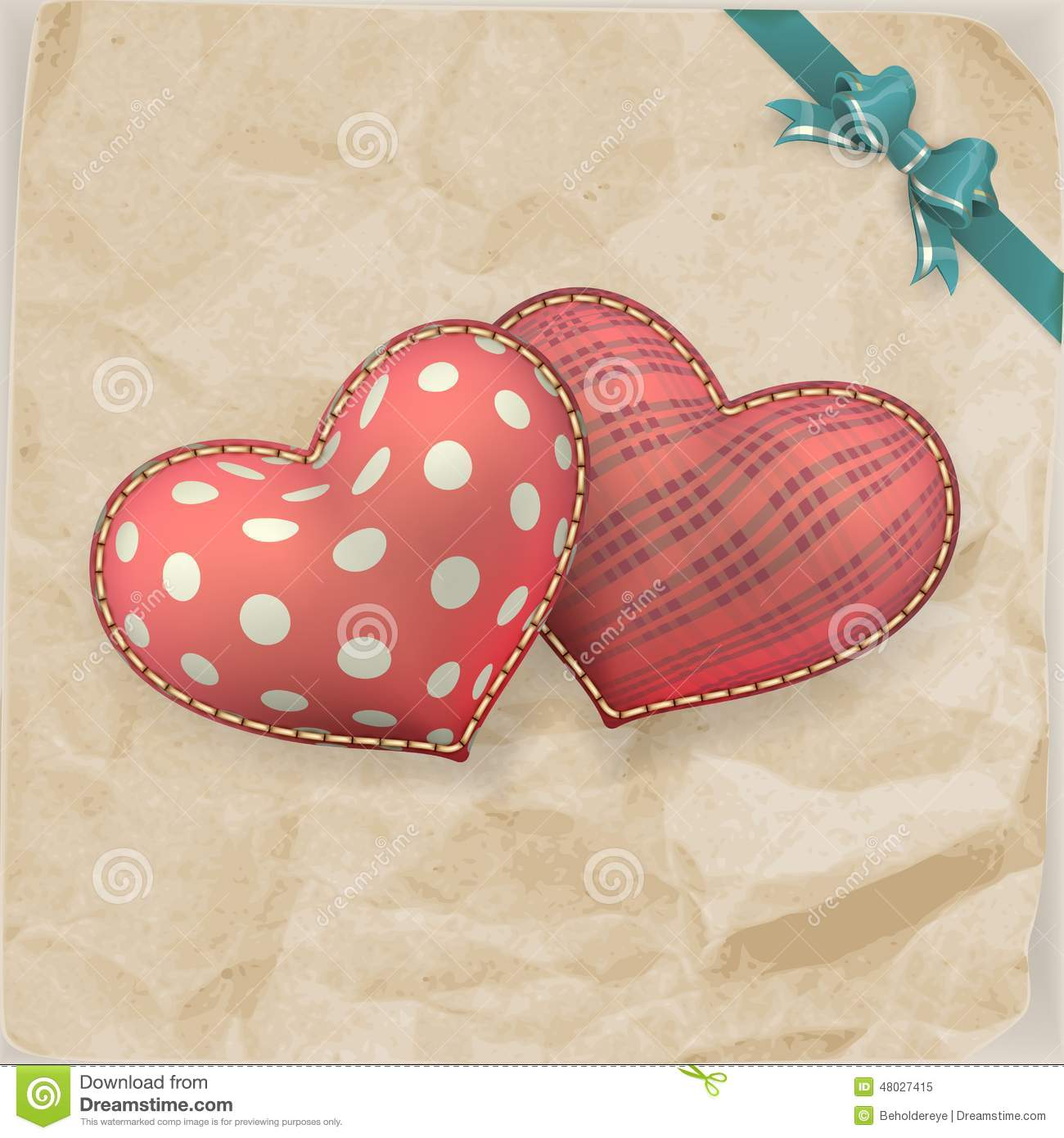Valentine S Day Vintage Toys : Vintage handmaded valentines day toy eps stock vector