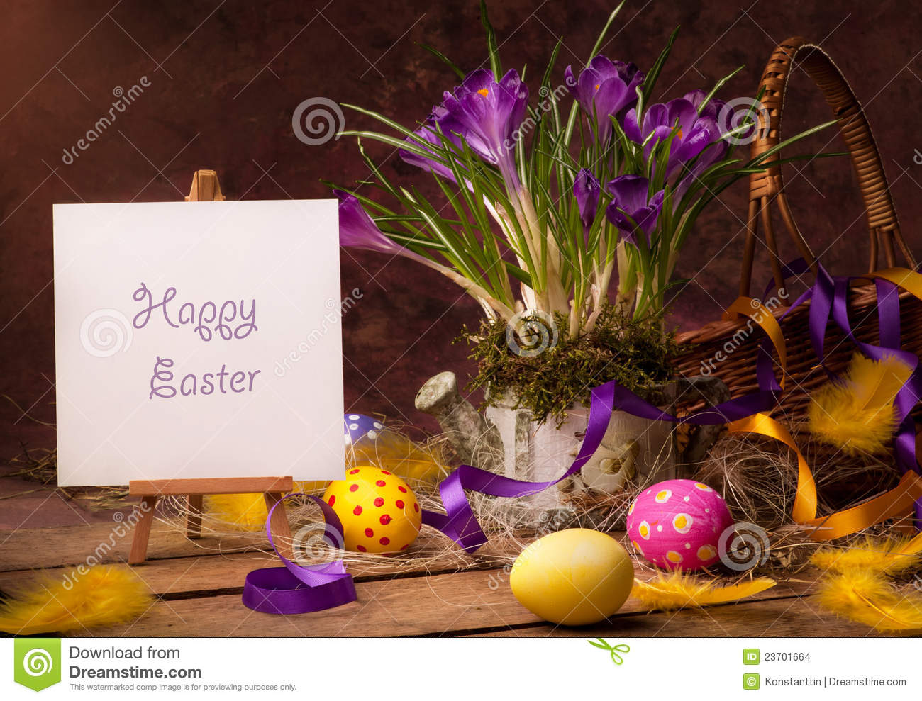 Vintage happy easter greeting card stock photo image of holiday download vintage happy easter greeting card stock photo image of holiday color 23701664 m4hsunfo