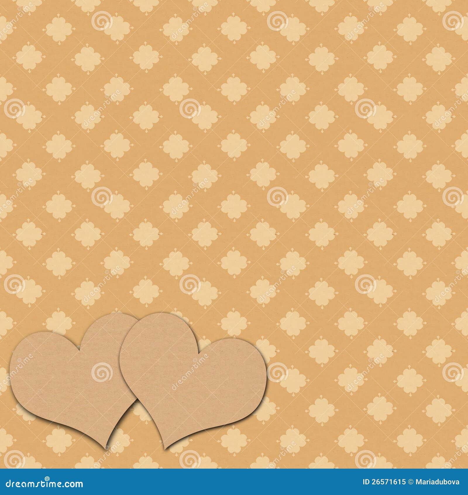 Vintage Heart Background Vintage Heart Backgrou...