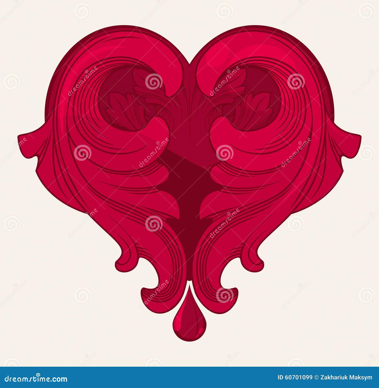 Vintage Red Heart 22