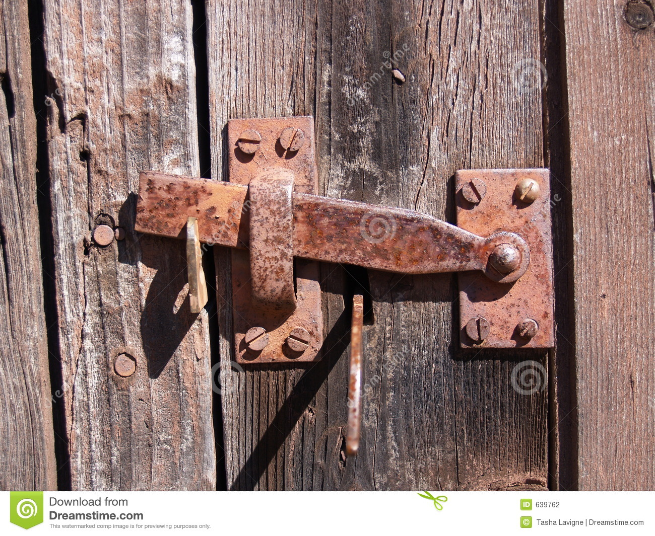Vintage Hinge Stock Photo Image Of Nail Metal Barn
