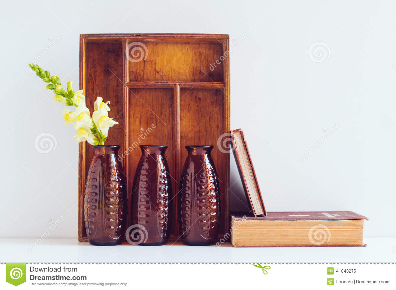 vintage home decor books vintage home decor stock photo image 41848275 11793