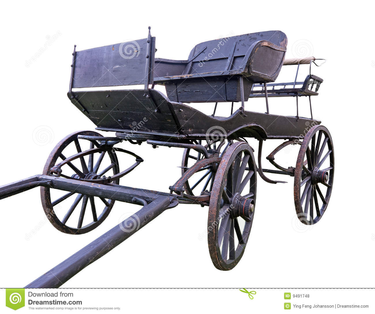 Vintage Horse Carriage Stock Photo Image Of Rustic