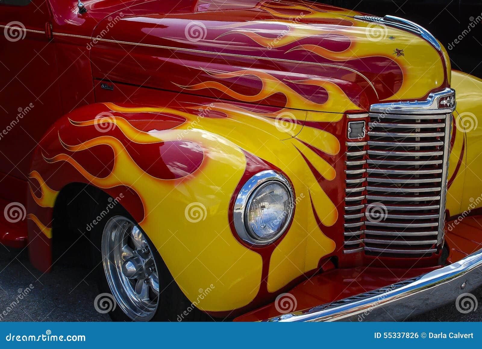 Vintage Hot Rod Car