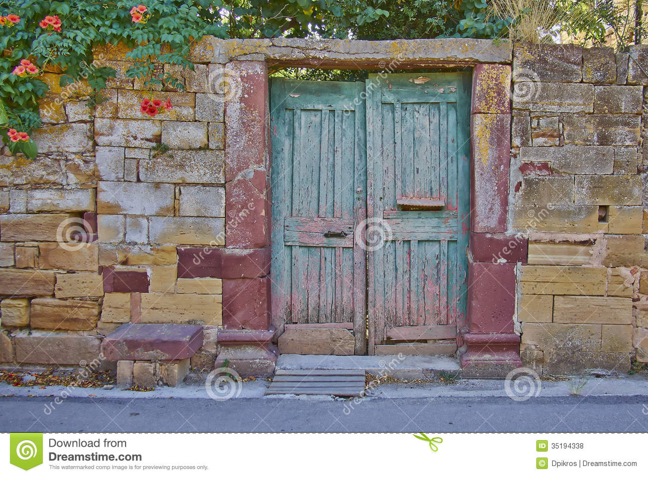 Vintage House Entrance Royalty Free Stock Photos - Image ...