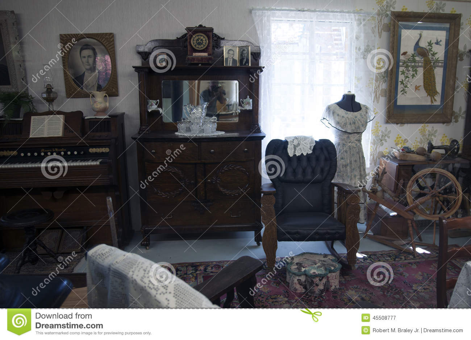Vintage House Interior