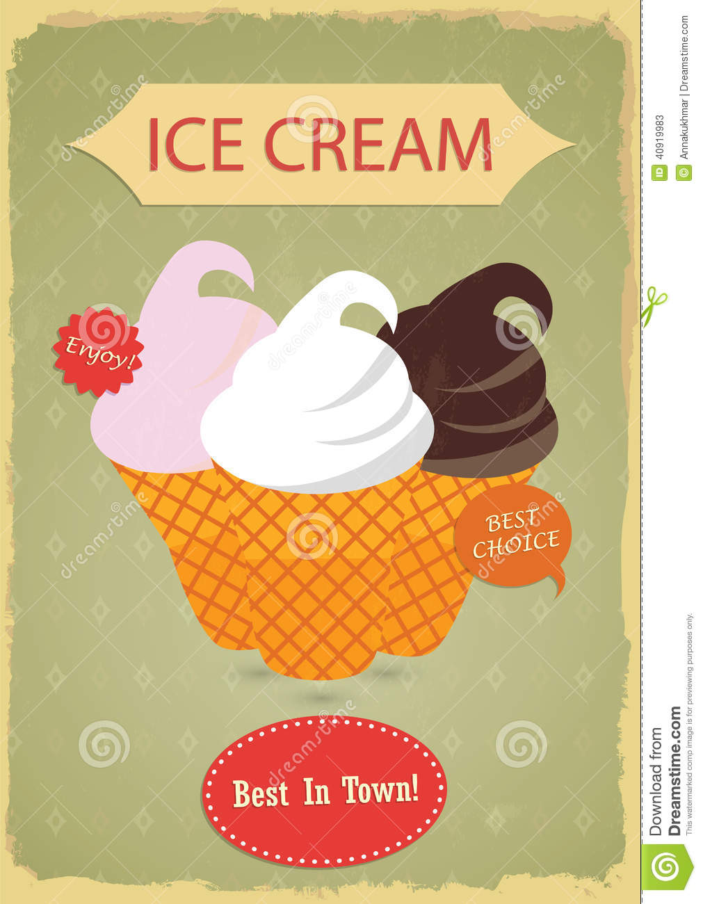 vintage ice cream clipart - photo #30