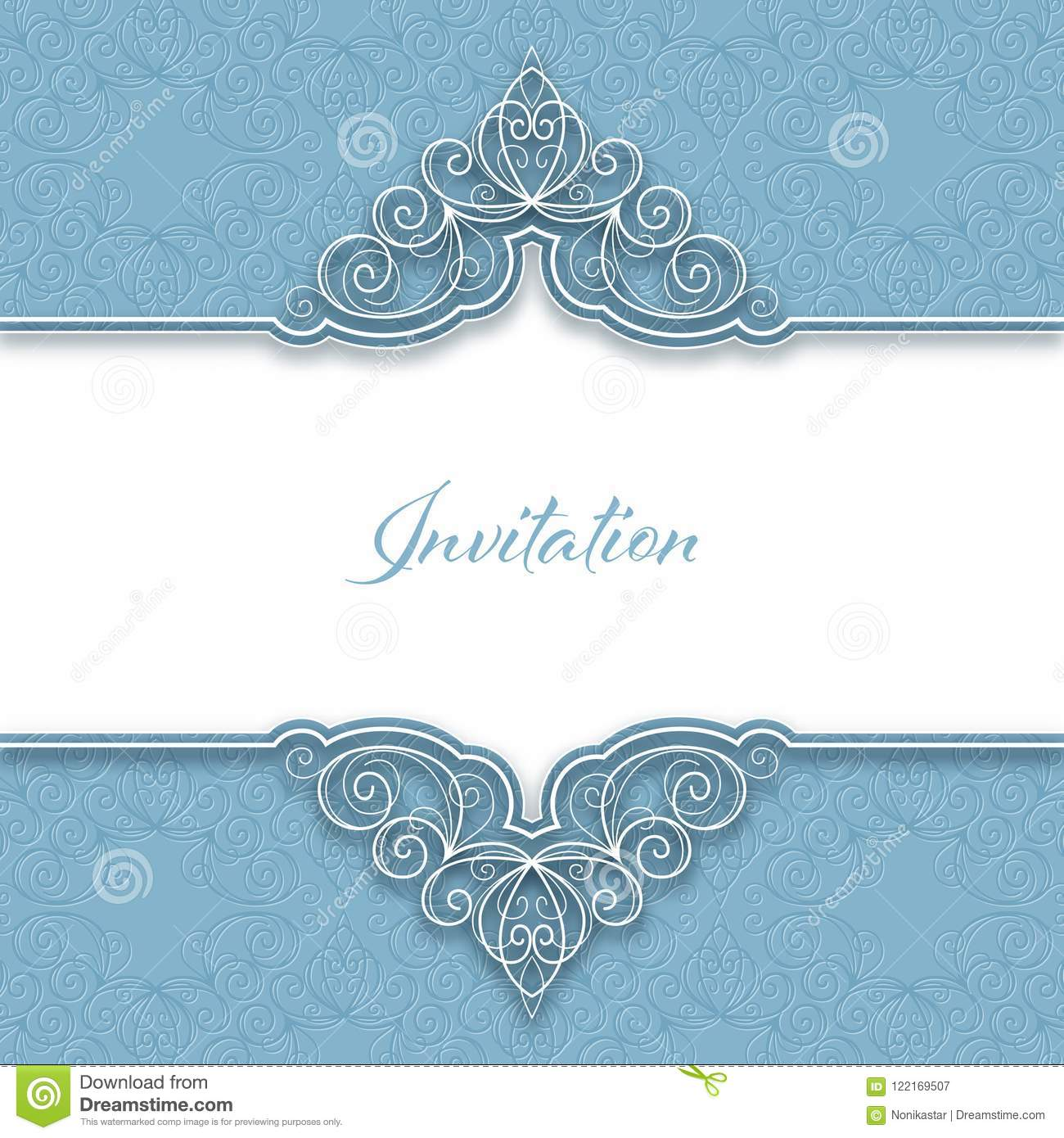 Vintage invitation template stock vector illustration of banner download vintage invitation template stock vector illustration of banner line 122169507 stopboris Images