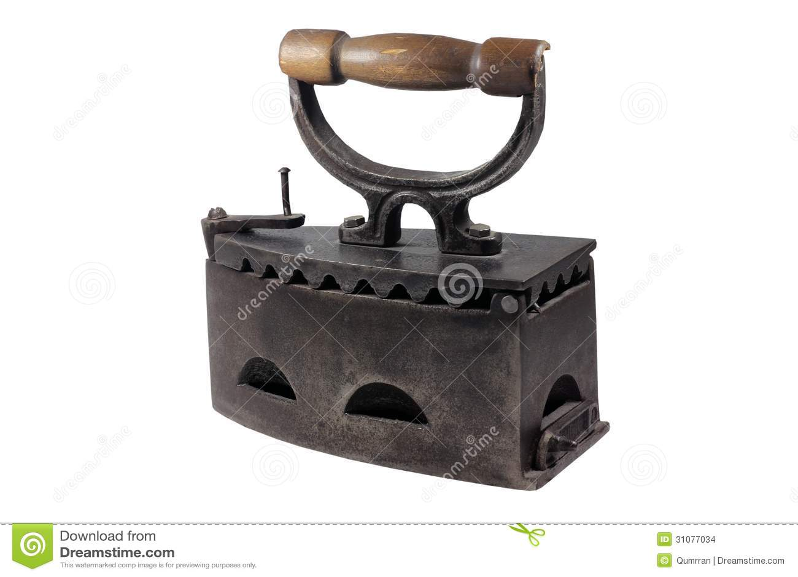 vintage iron stock images image 31077034. Black Bedroom Furniture Sets. Home Design Ideas